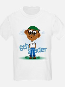 6th Grade Boy (aa) T-Shirt