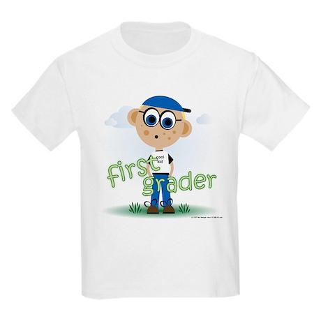 First Grade Boy (c) Kids Light T-Shirt