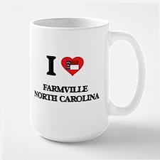 I love Farmville North Carolina Mugs