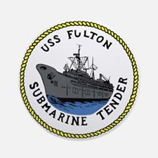 USS Fulton (AS 11) Ornament (Round)