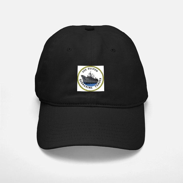 USS Fulton (AS 11) Baseball Hat