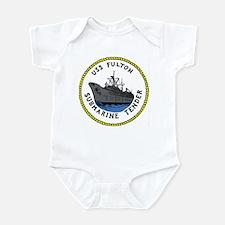 USS Fulton (AS 11) Infant Bodysuit