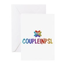 COUPLEINPSL Products Greeting Cards (Pk of 10)