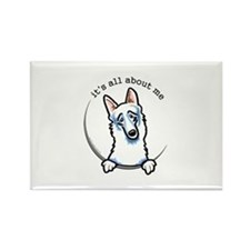 Cute German shepherd Rectangle Magnet