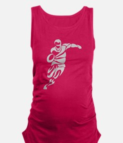 Rugby Player Maternity Tank Top