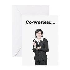 Co-worker Diarrhea Breath Greeting Card