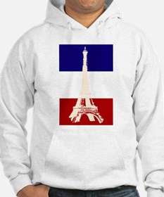 Eiffel Tower French Flag Hoodie