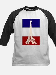 Eiffel Tower French Flag Tee