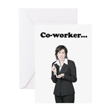 Co-Worker Bad Perfume Greeting Card