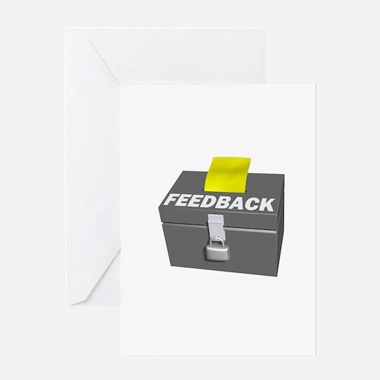 Feedback You Suck Greeting Card