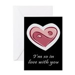 Love You Hate Your Friends Greeting Card