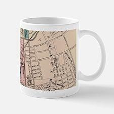 Vintage Map of Trenton NJ (1872) Mugs