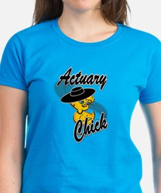 Actuary Chick #4 Tee