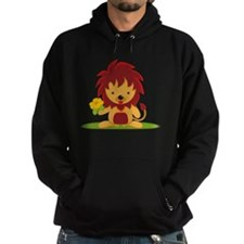 Flower_and_Lion Hoodie