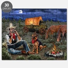 Lonesome Cowboy Puzzle