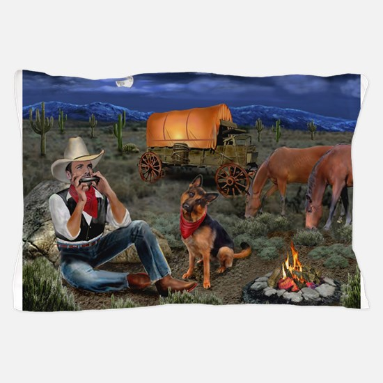 Lonesome Cowboy Pillow Case