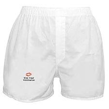 Kiss Your Veterinarian Boxer Shorts