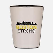 Boston Strong - Skyline Shot Glass
