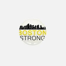 Boston Strong - Skyline Mini Button (10 pack)