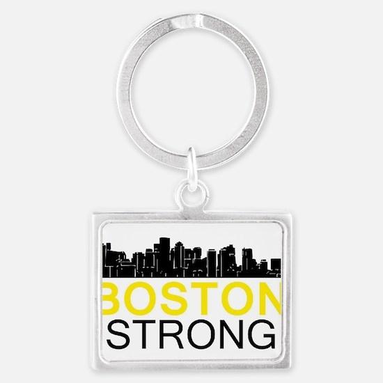 Boston Strong - Skyline Keychains