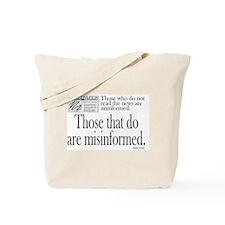 MARK TWAIN,  THOSE WHO DO NOT READ THE NE Tote Bag