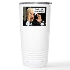 Cute Biden Travel Mug