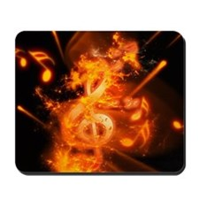 Awesome clef Mousepad