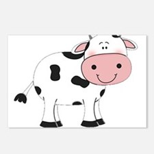 Happy Cow Postcards (Package of 8)