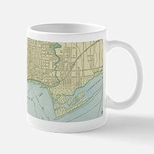 Vintage Map of Toronto (1901) Mugs