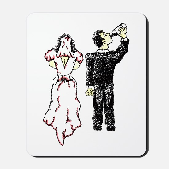 Drunken Groom Mousepad