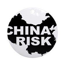 china risk Ornament (Round)