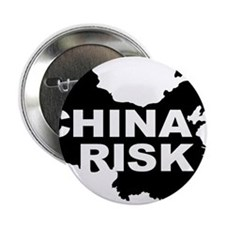 """china risk 2.25"""" Button (100 pack)"""