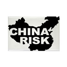 china risk Rectangle Magnet