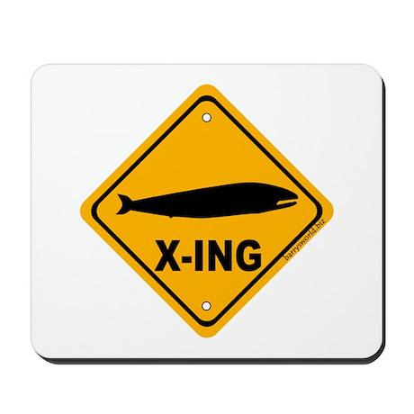 Whale X-ing Mousepad