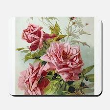 Vintage Roses Mousepad