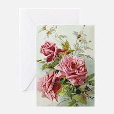 Vintage Roses Greeting Cards
