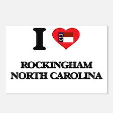 I love Rockingham North C Postcards (Package of 8)
