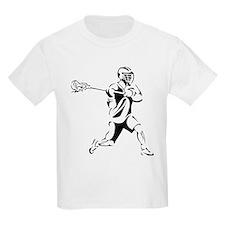 Lacrosse Player Action T-Shirt