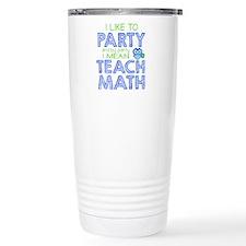 Math Party Travel Mug