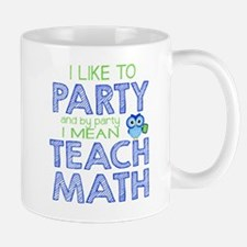 Math Party Mugs