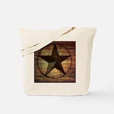 barn wood texas star Tote Bag