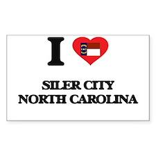 I love Siler City North Carolina Decal
