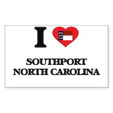 I love Southport North Carolina Decal