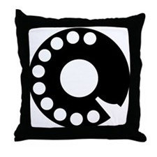 Telephone Throw Pillow