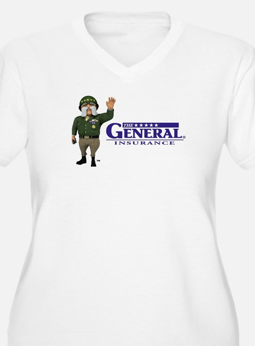 The General Logo Plus Size T-Shirt