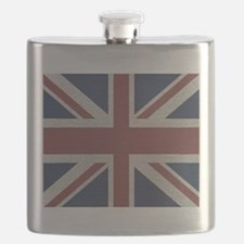 woven Union Jack flag Flask