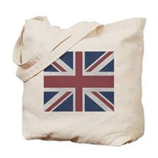 woven Union Jack flag Tote Bag