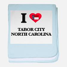 I love Tabor City North Carolina baby blanket