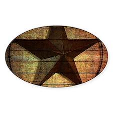 barn wood texas star Decal