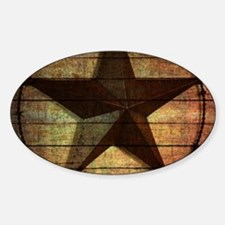 barn wood texas star Decal